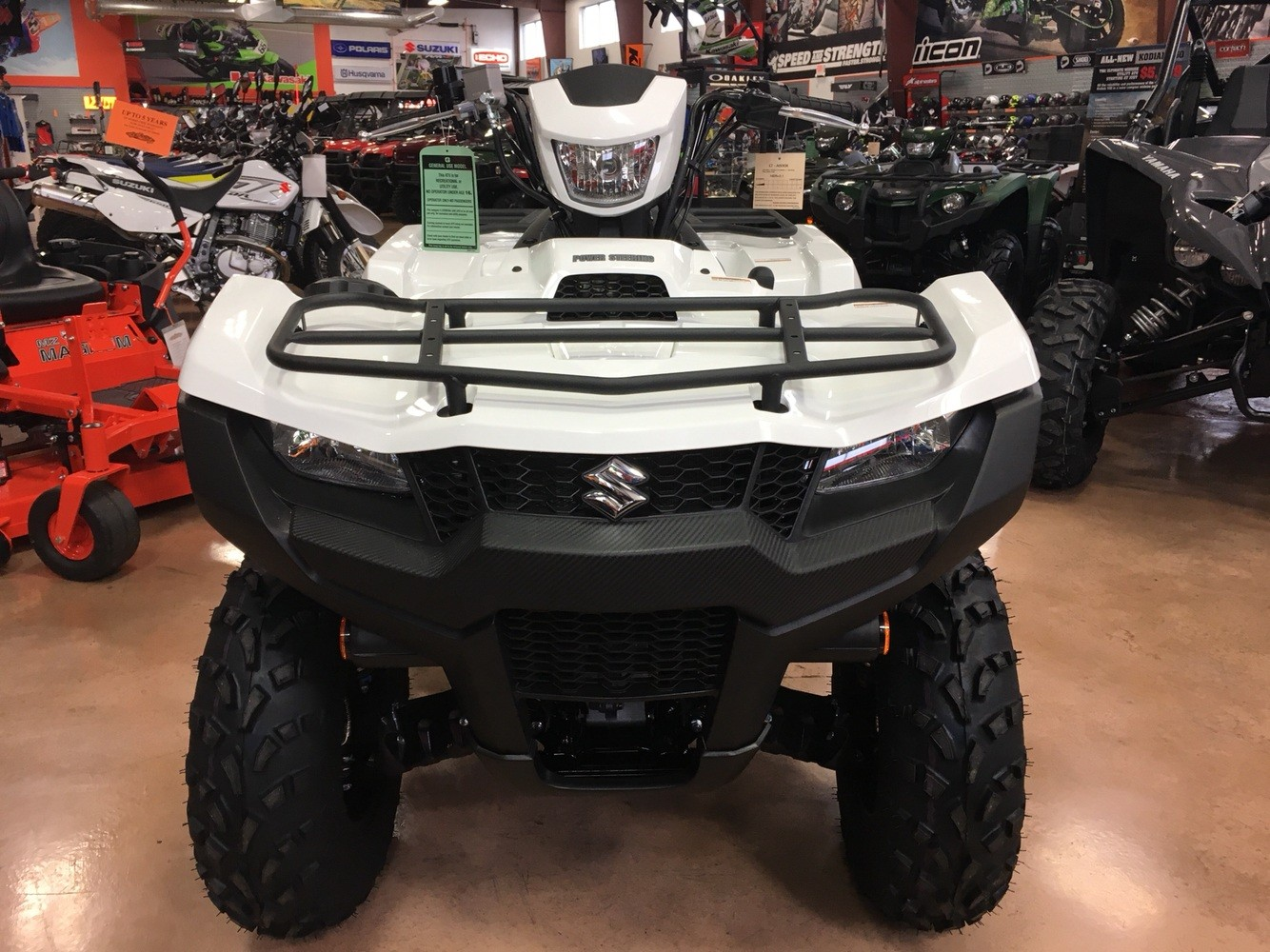 2019 Suzuki KingQuad 500AXi Power Steering SE in Evansville, Indiana - Photo 7