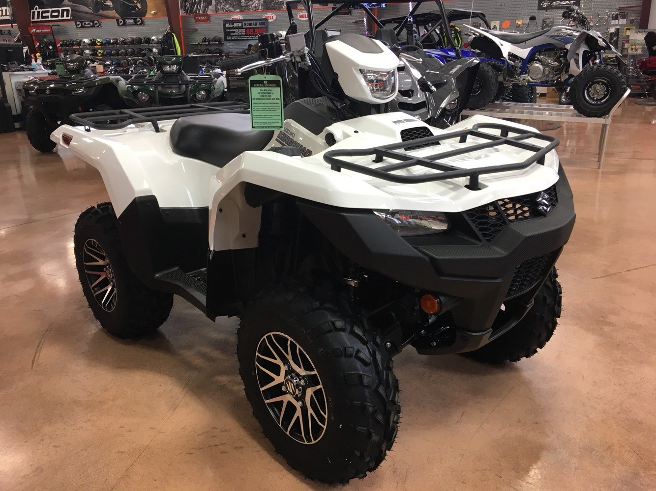 2019 Suzuki KingQuad 500AXi Power Steering SE in Evansville, Indiana - Photo 2