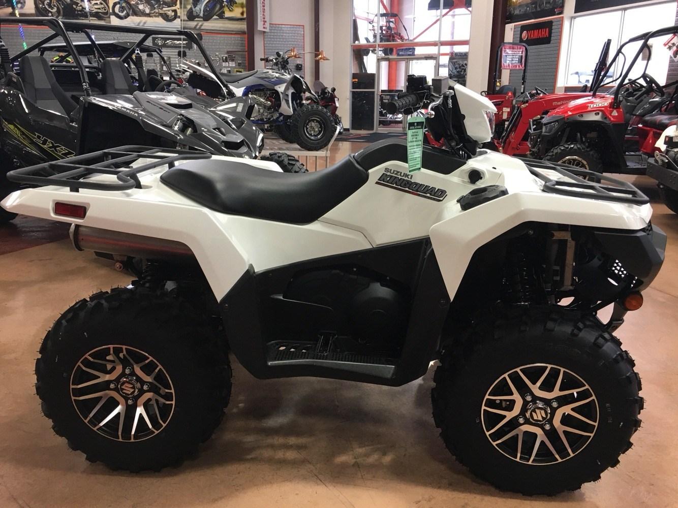 2019 Suzuki KingQuad 500AXi Power Steering SE in Evansville, Indiana - Photo 4