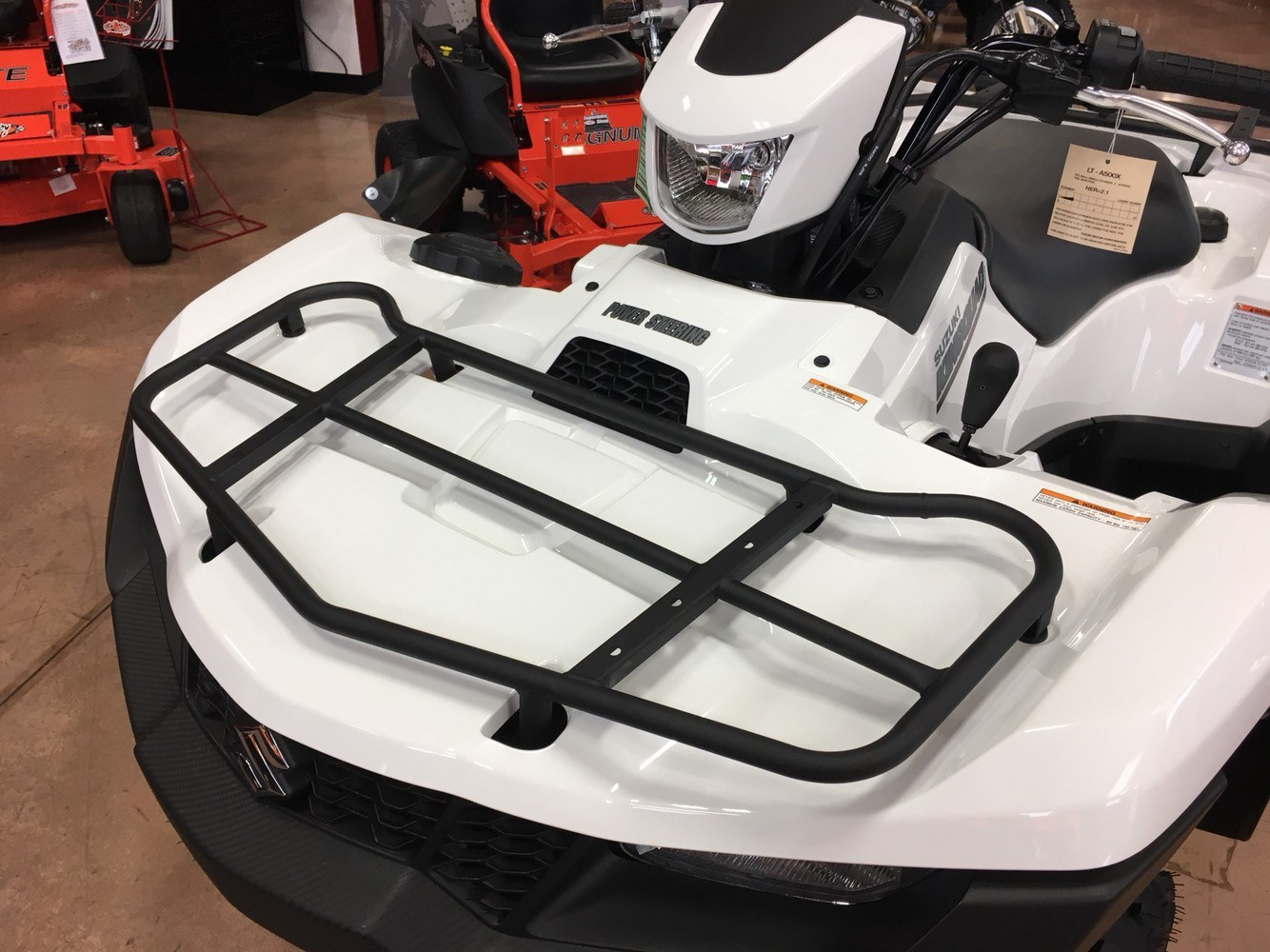 2019 Suzuki KingQuad 500AXi Power Steering SE in Evansville, Indiana - Photo 12
