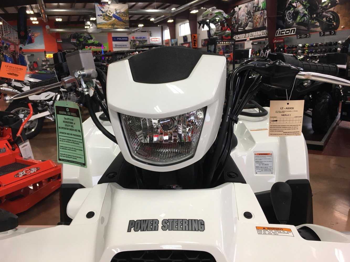 2019 Suzuki KingQuad 500AXi Power Steering SE in Evansville, Indiana - Photo 22