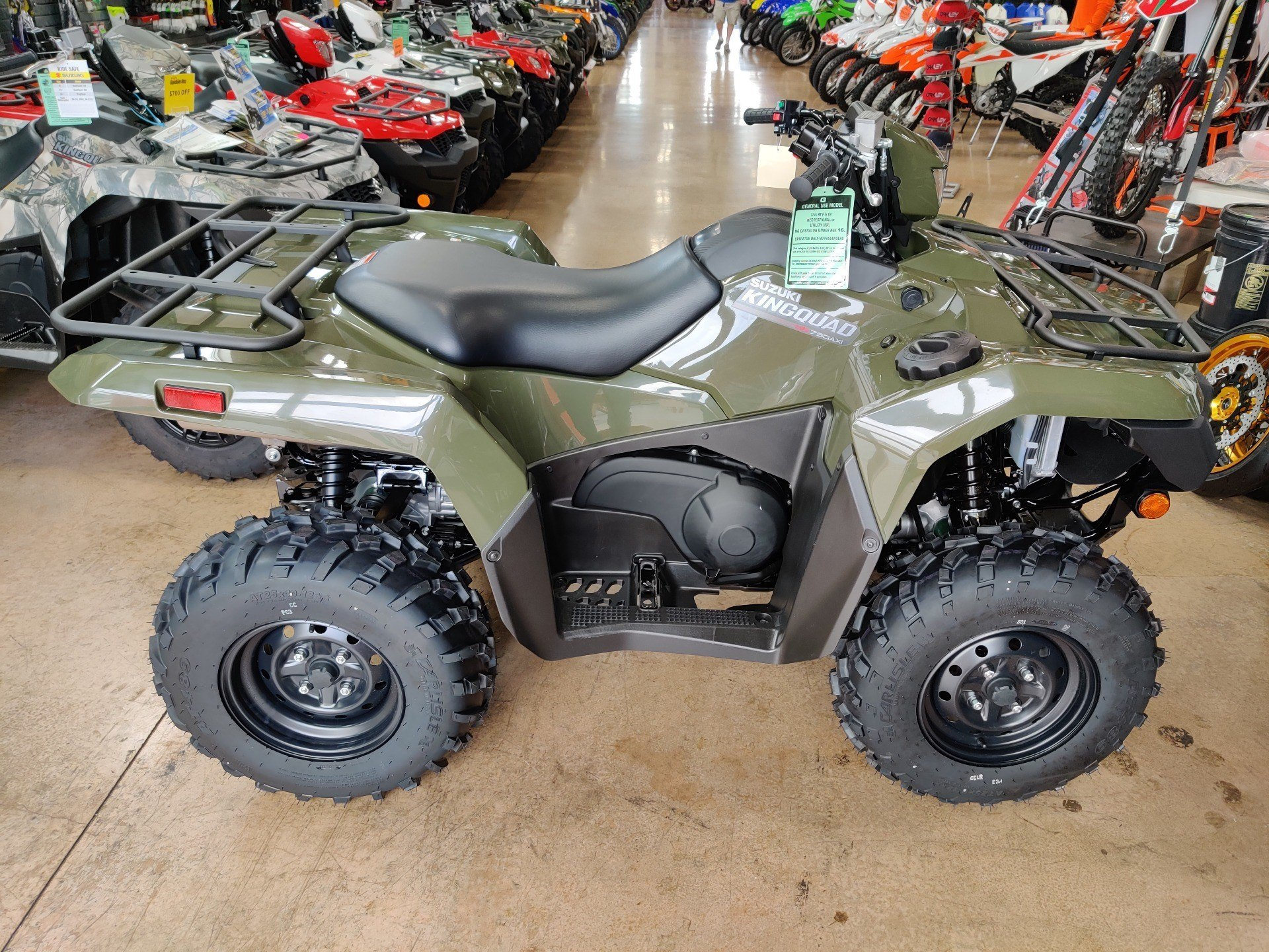 2020 Suzuki KingQuad 750AXi Power Steering in Evansville, Indiana - Photo 1
