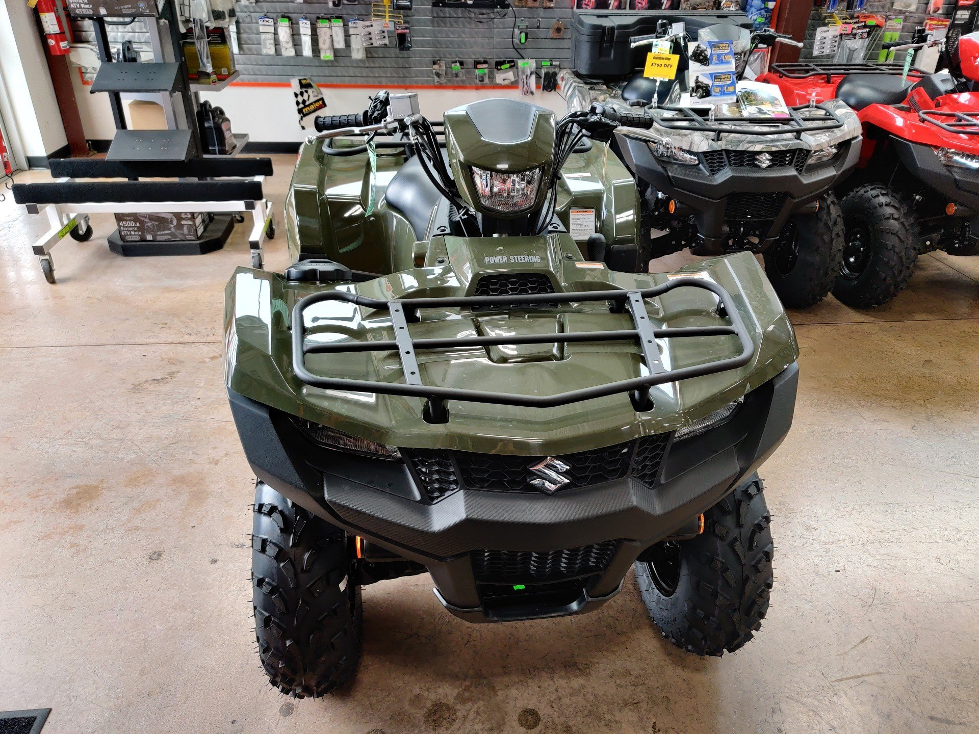 2020 Suzuki KingQuad 750AXi Power Steering in Evansville, Indiana - Photo 2