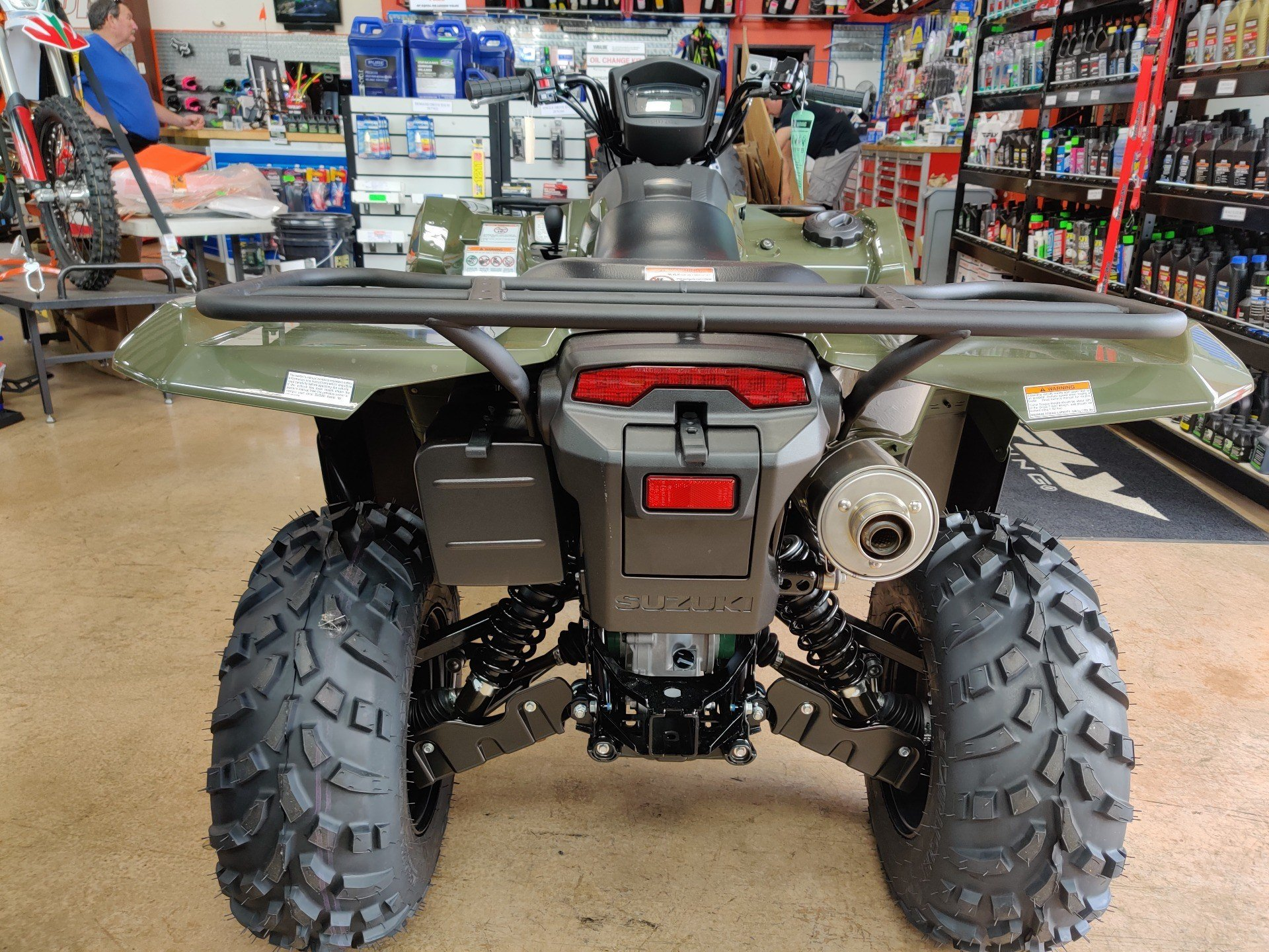 2020 Suzuki KingQuad 750AXi Power Steering in Evansville, Indiana - Photo 4