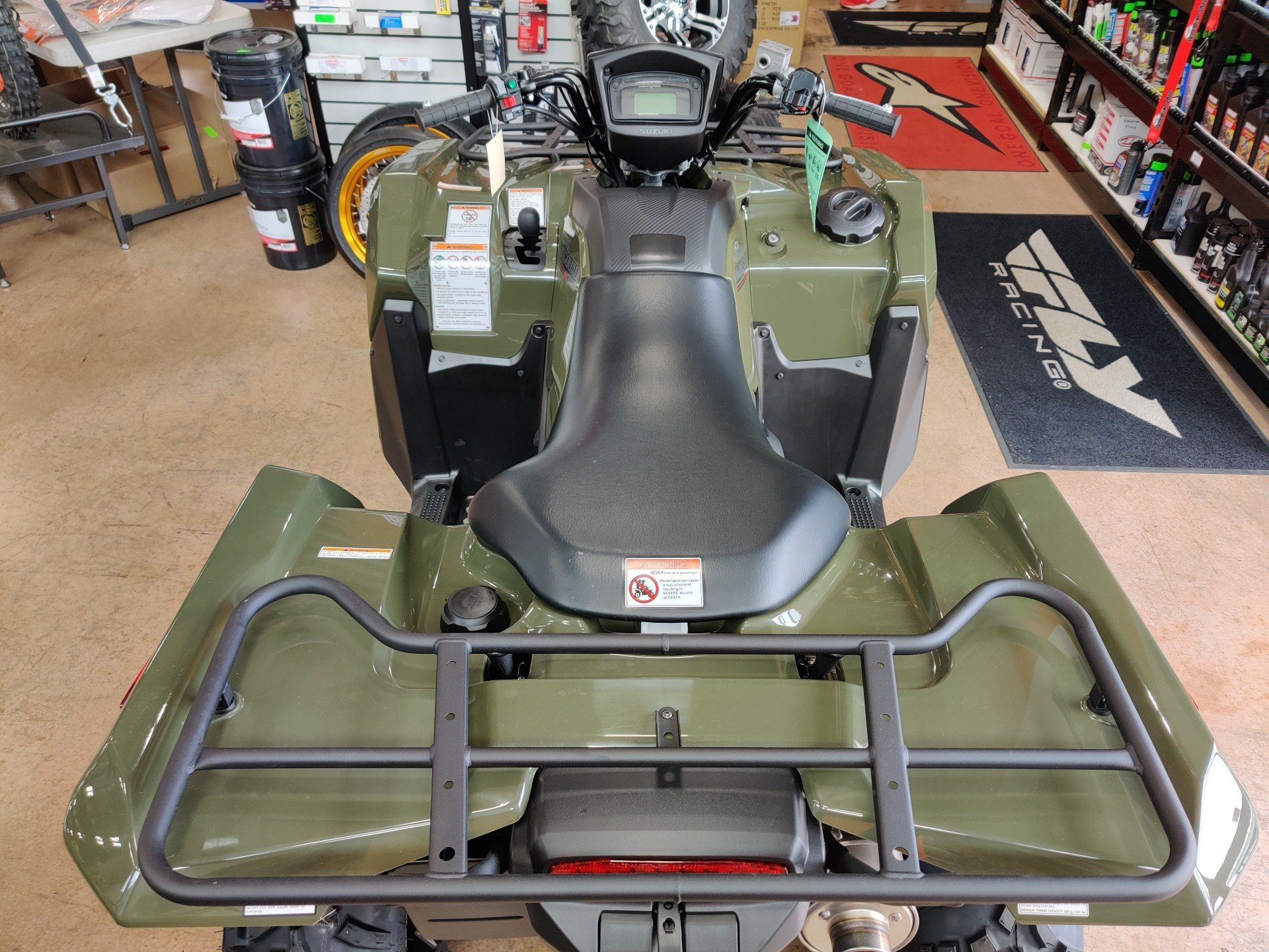 2020 Suzuki KingQuad 750AXi Power Steering in Evansville, Indiana - Photo 5