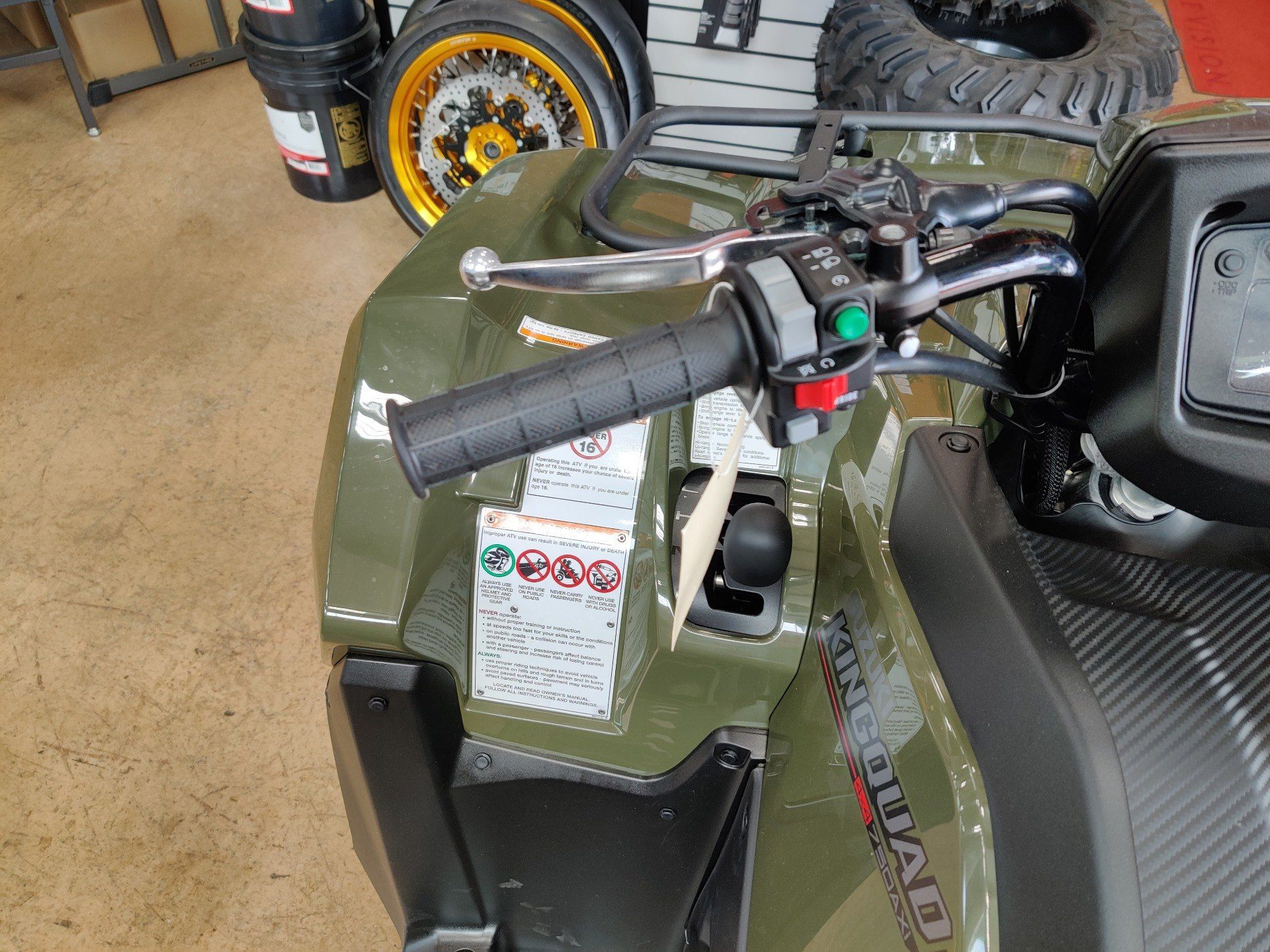 2020 Suzuki KingQuad 750AXi Power Steering in Evansville, Indiana - Photo 6