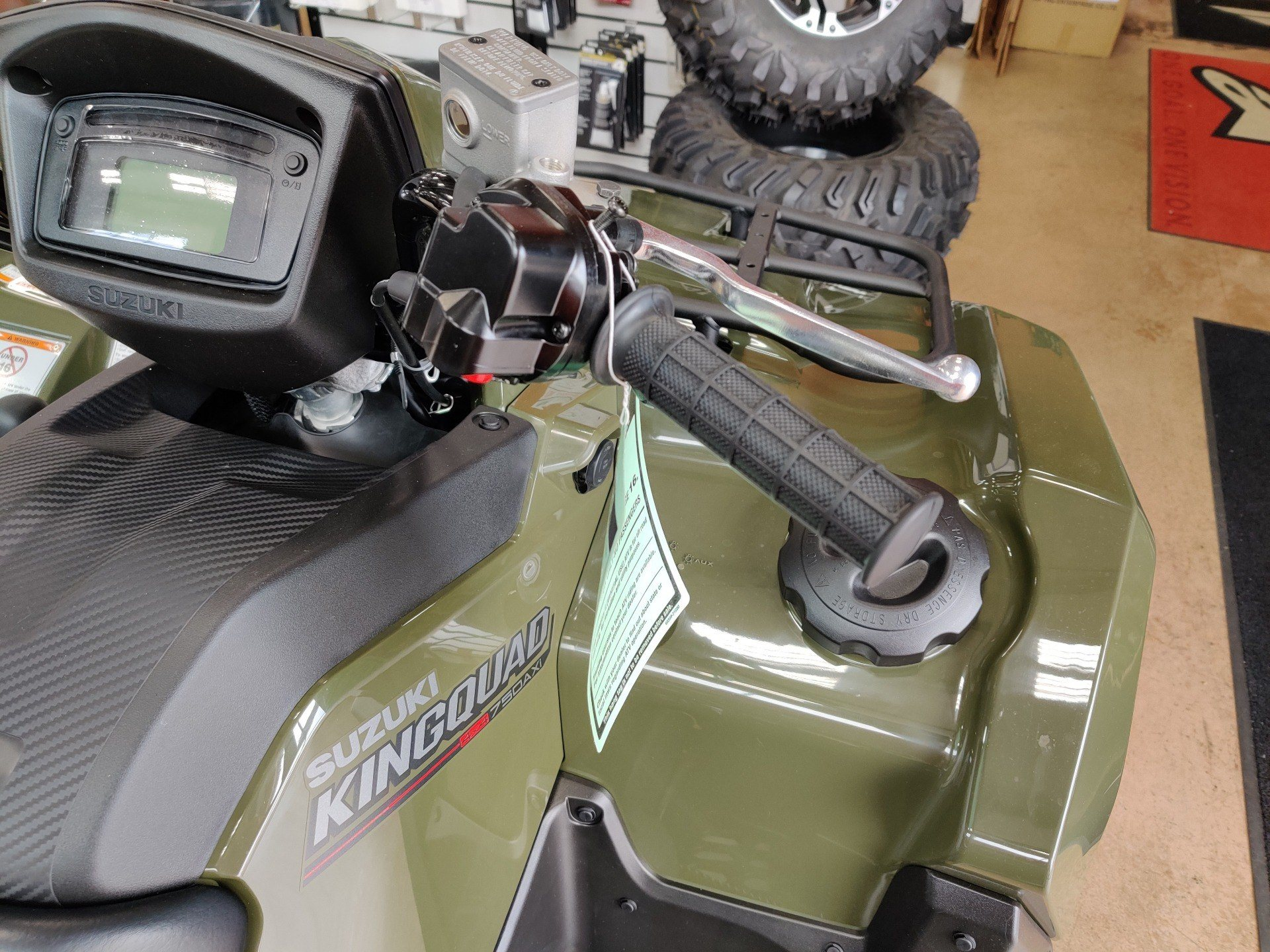 2020 Suzuki KingQuad 750AXi Power Steering in Evansville, Indiana - Photo 7
