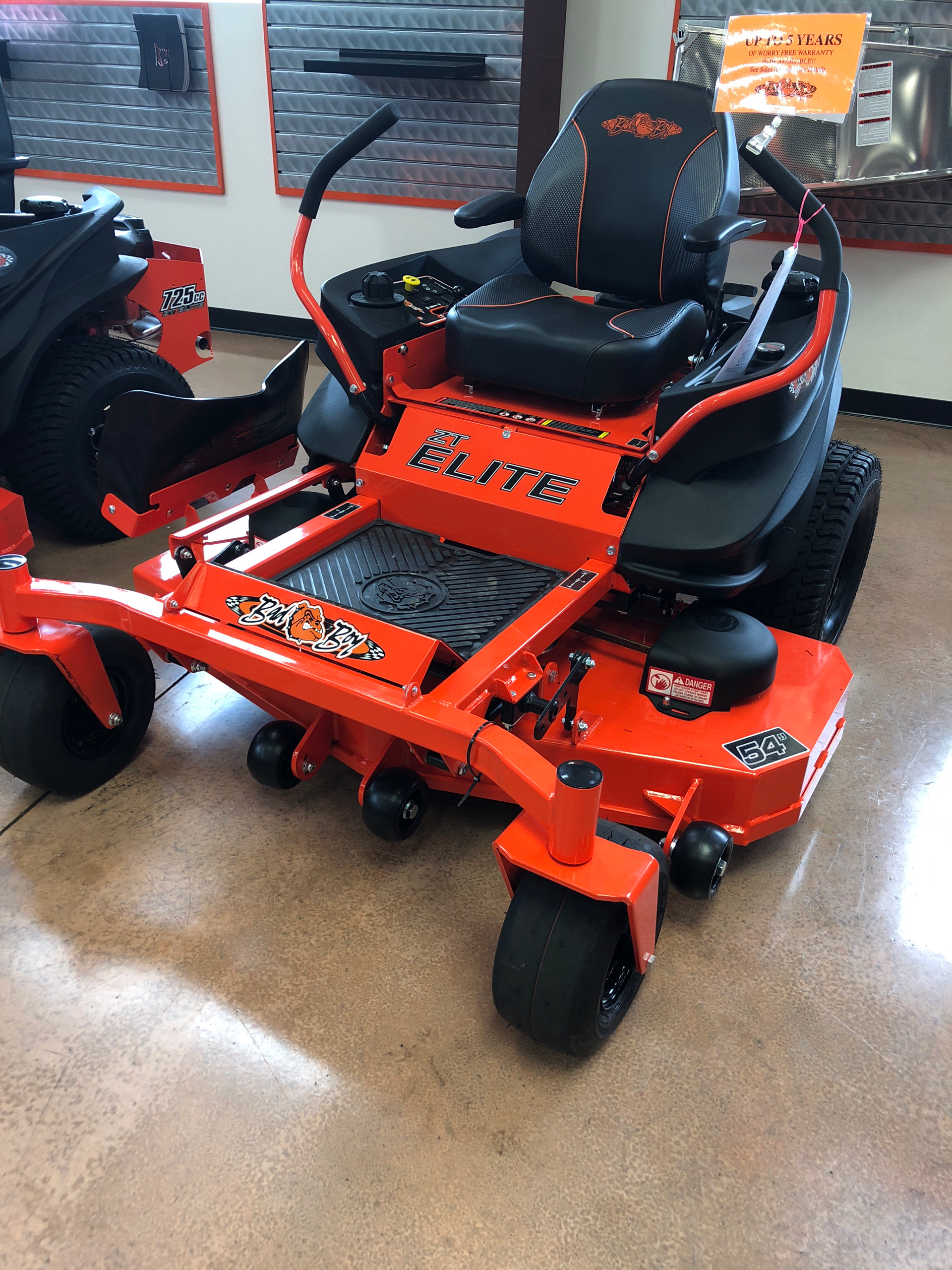 2018 Bad Boy Mowers 5400 Kawasaki ZT Elite in Evansville, Indiana