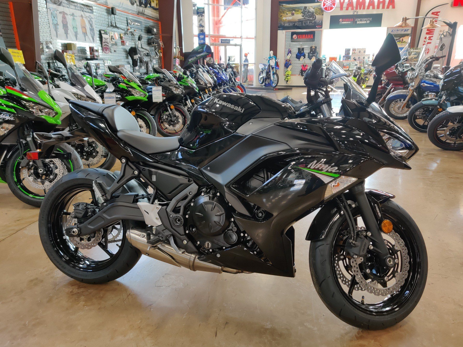 2020 Kawasaki Ninja 650 ABS in Evansville, Indiana - Photo 1