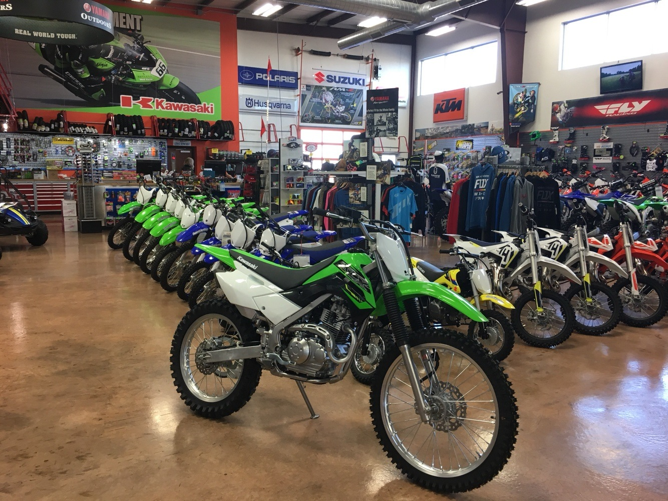 2019 Kawasaki KLX 140G in Evansville, Indiana - Photo 2