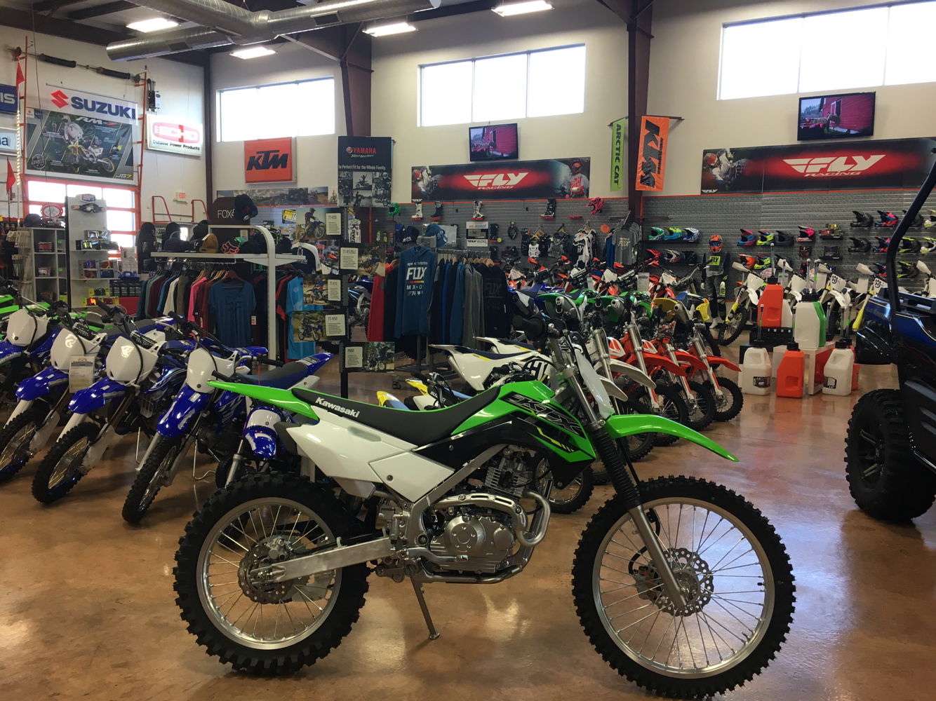 2019 Kawasaki KLX 140G in Evansville, Indiana - Photo 1