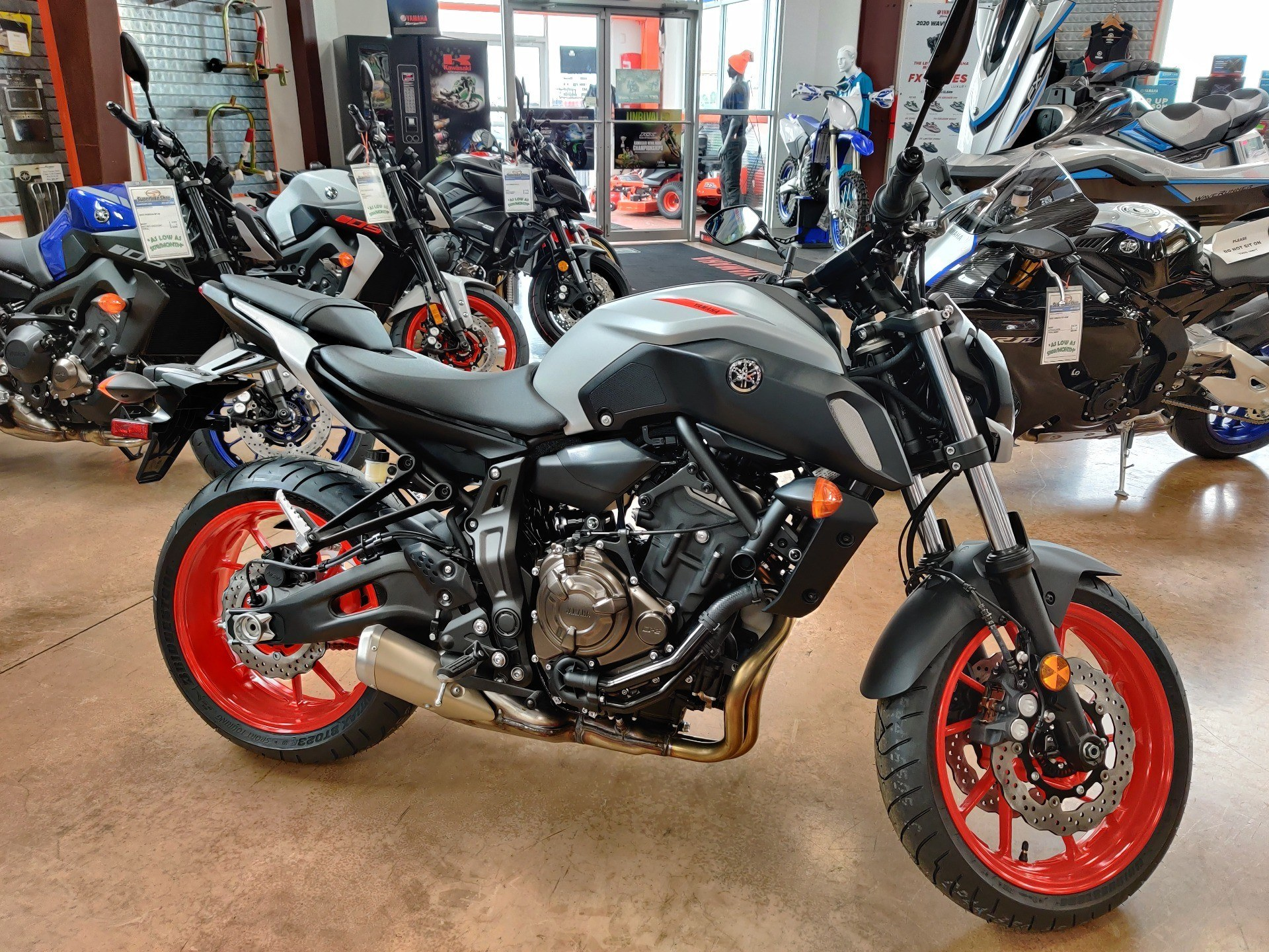 2020 Yamaha MT-07 in Evansville, Indiana - Photo 1