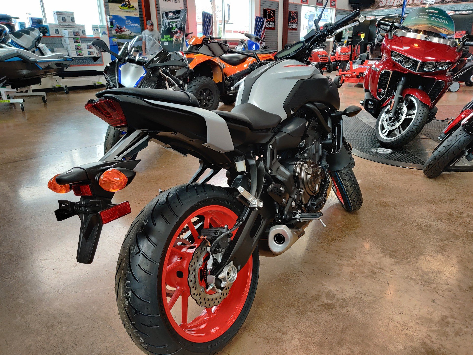 2020 Yamaha MT-07 in Evansville, Indiana - Photo 4