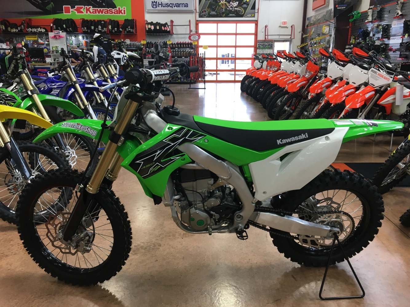2019 Kawasaki KX 450 in Evansville, Indiana - Photo 3