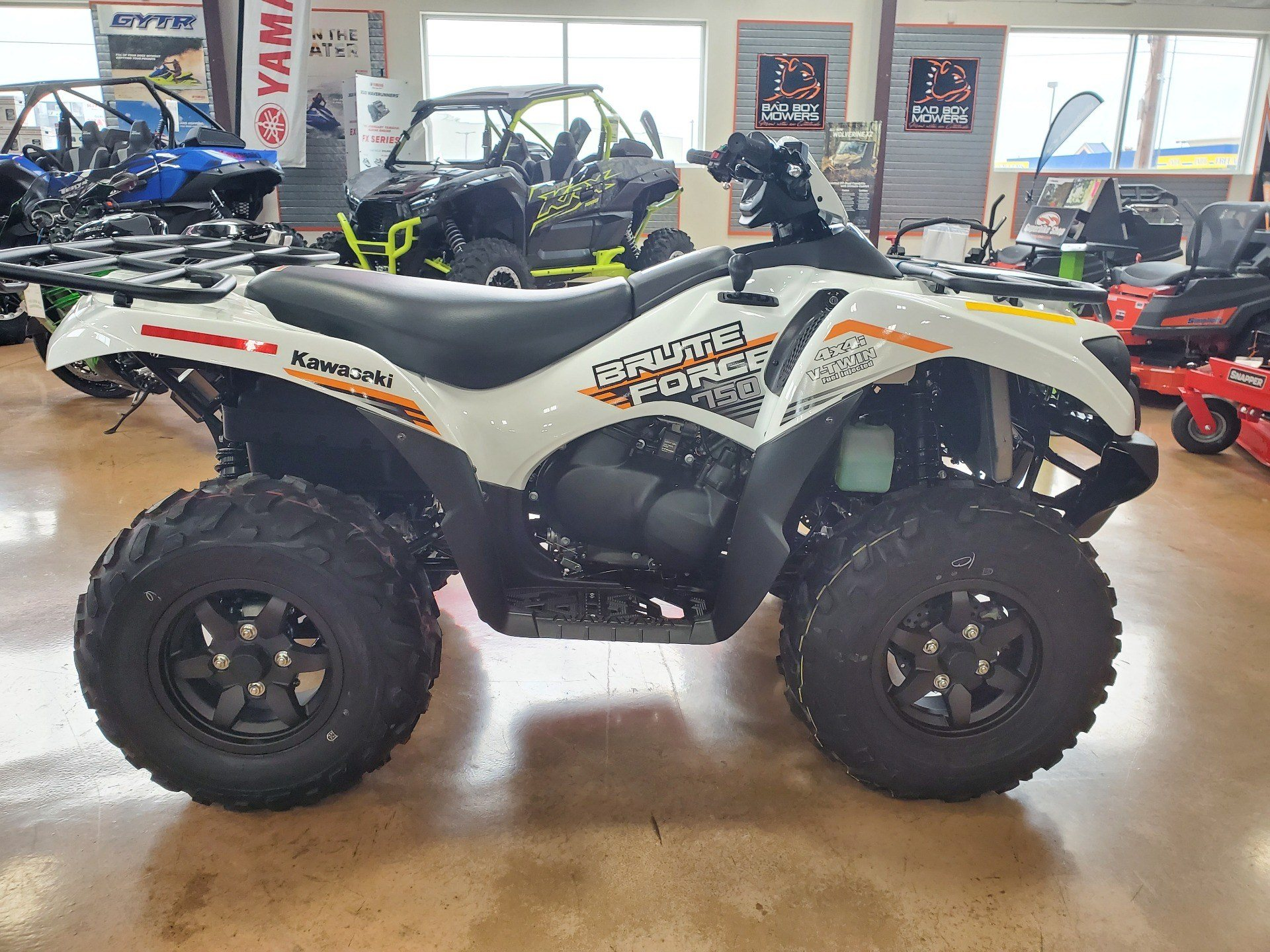 2021 Kawasaki Brute Force 750 4x4i EPS in Evansville, Indiana - Photo 4