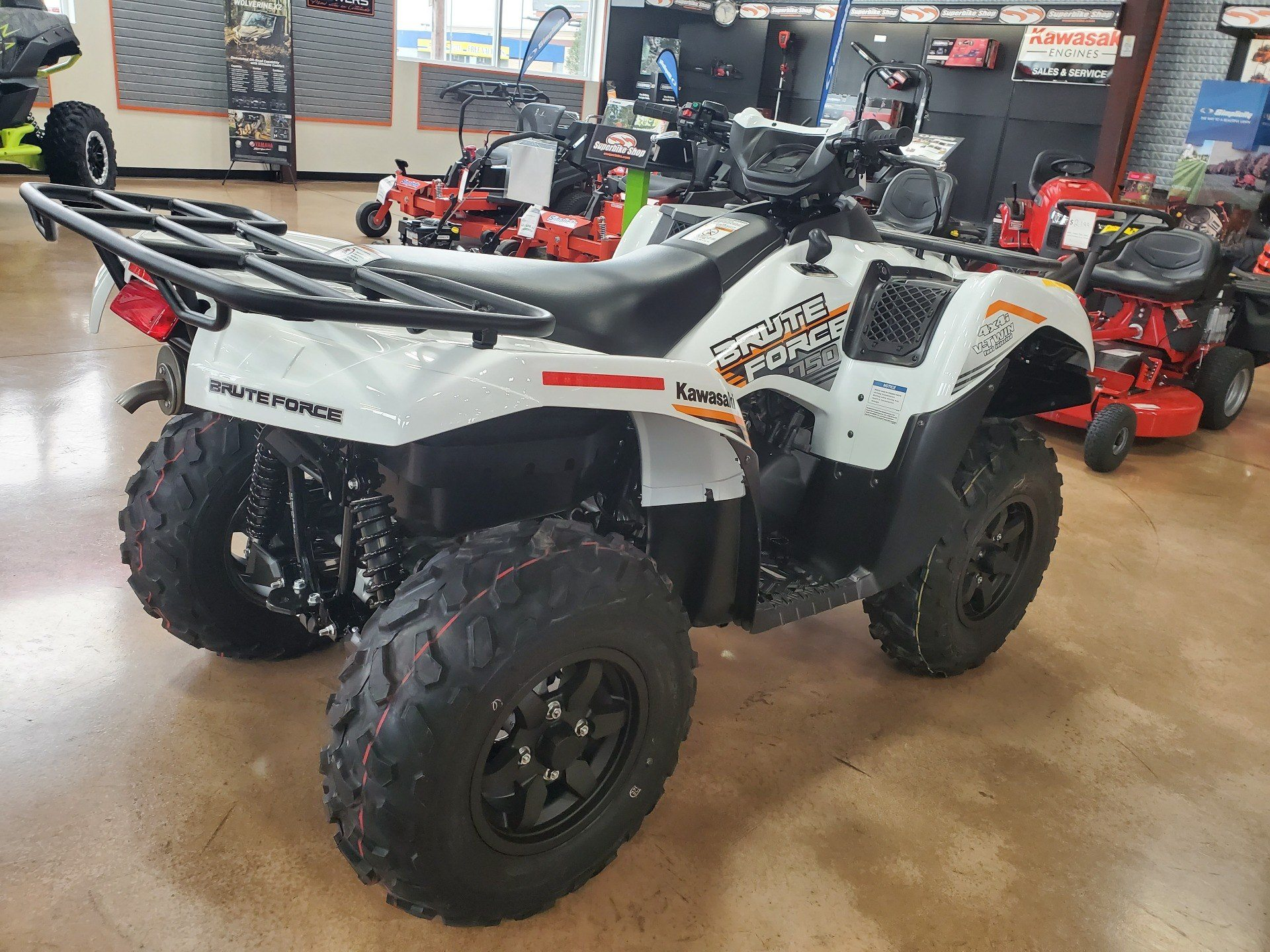 2021 Kawasaki Brute Force 750 4x4i EPS in Evansville, Indiana - Photo 5