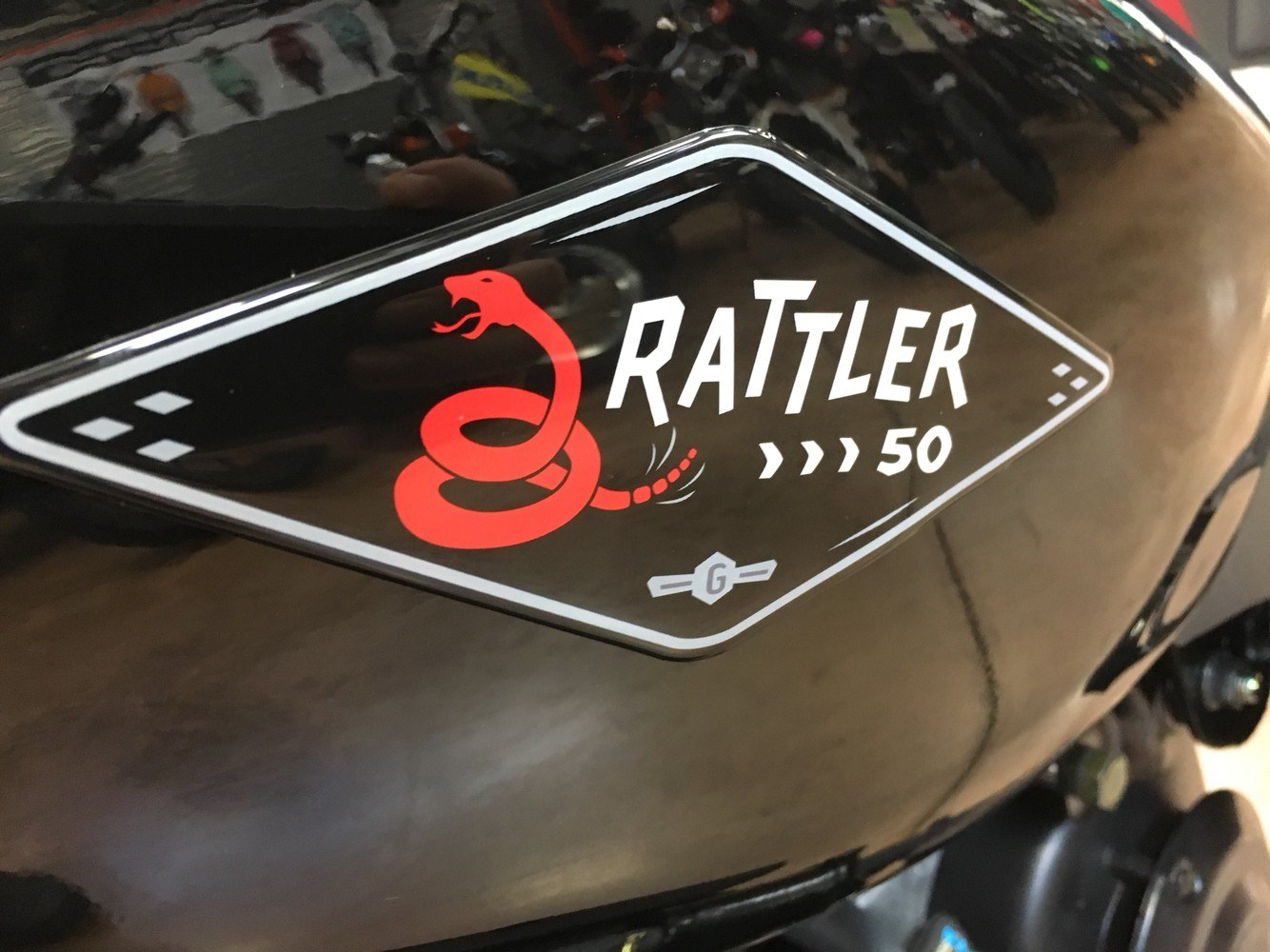 2019 Genuine Scooters Rattler 50 in Evansville, Indiana - Photo 30