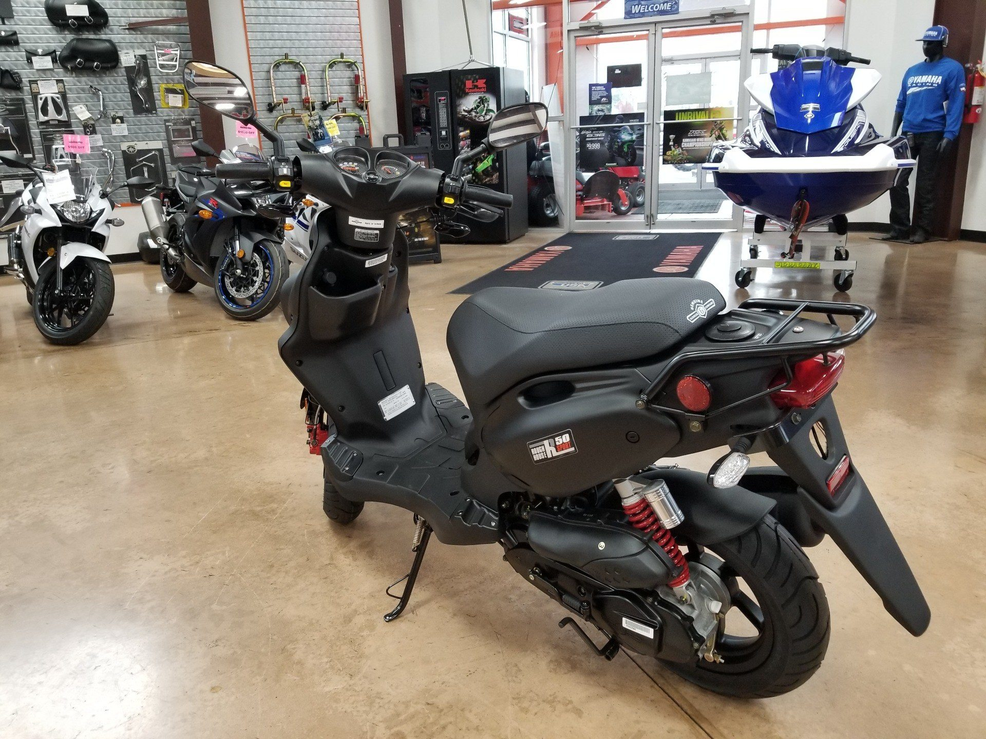 2020 Genuine Scooters Roughhouse 50 Sport in Evansville, Indiana - Photo 6
