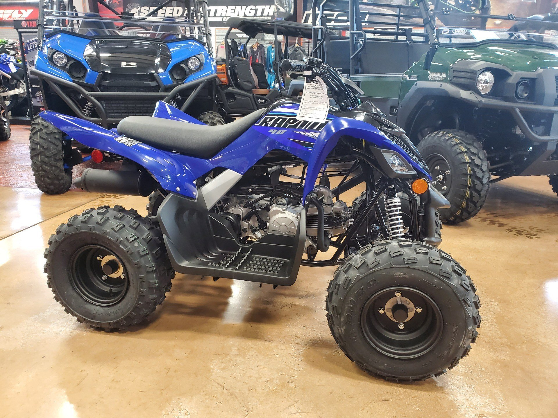 2021 Yamaha Raptor 90 in Evansville, Indiana - Photo 5