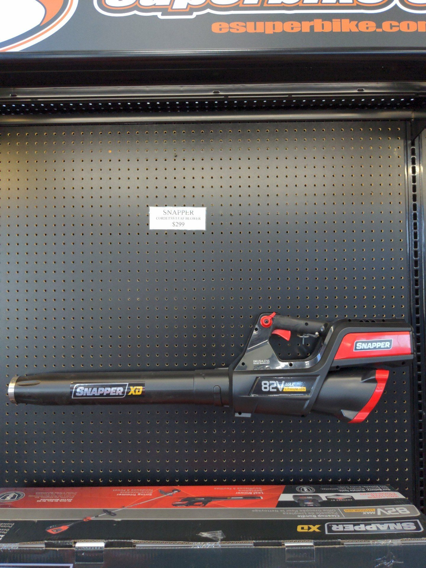 Snapper XD 82V Max Lithium-Ion Cordless Leaf Blower (SXDBL82K) in Evansville, Indiana - Photo 1