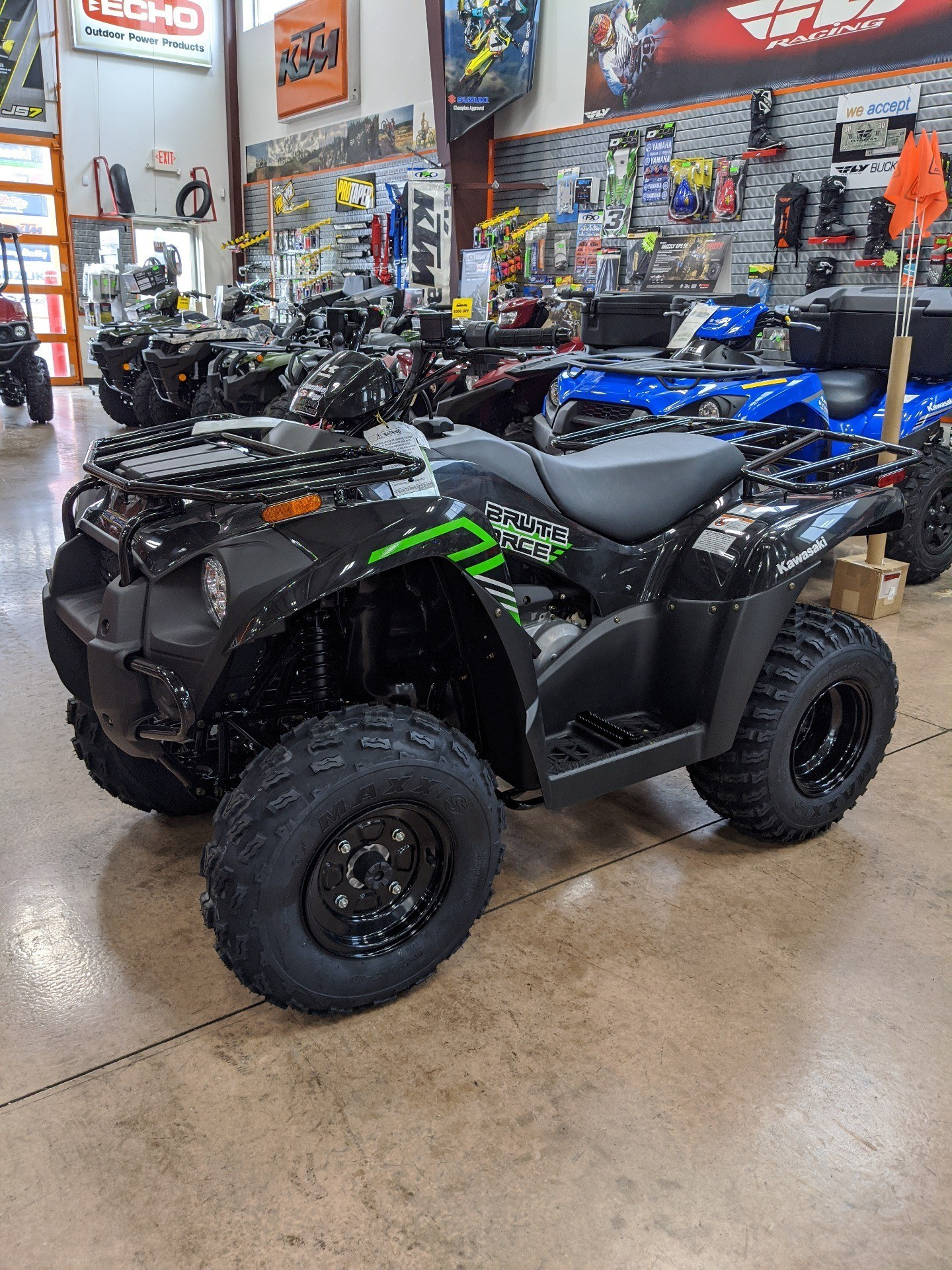 2020 Kawasaki Brute Force 300 in Evansville, Indiana - Photo 4