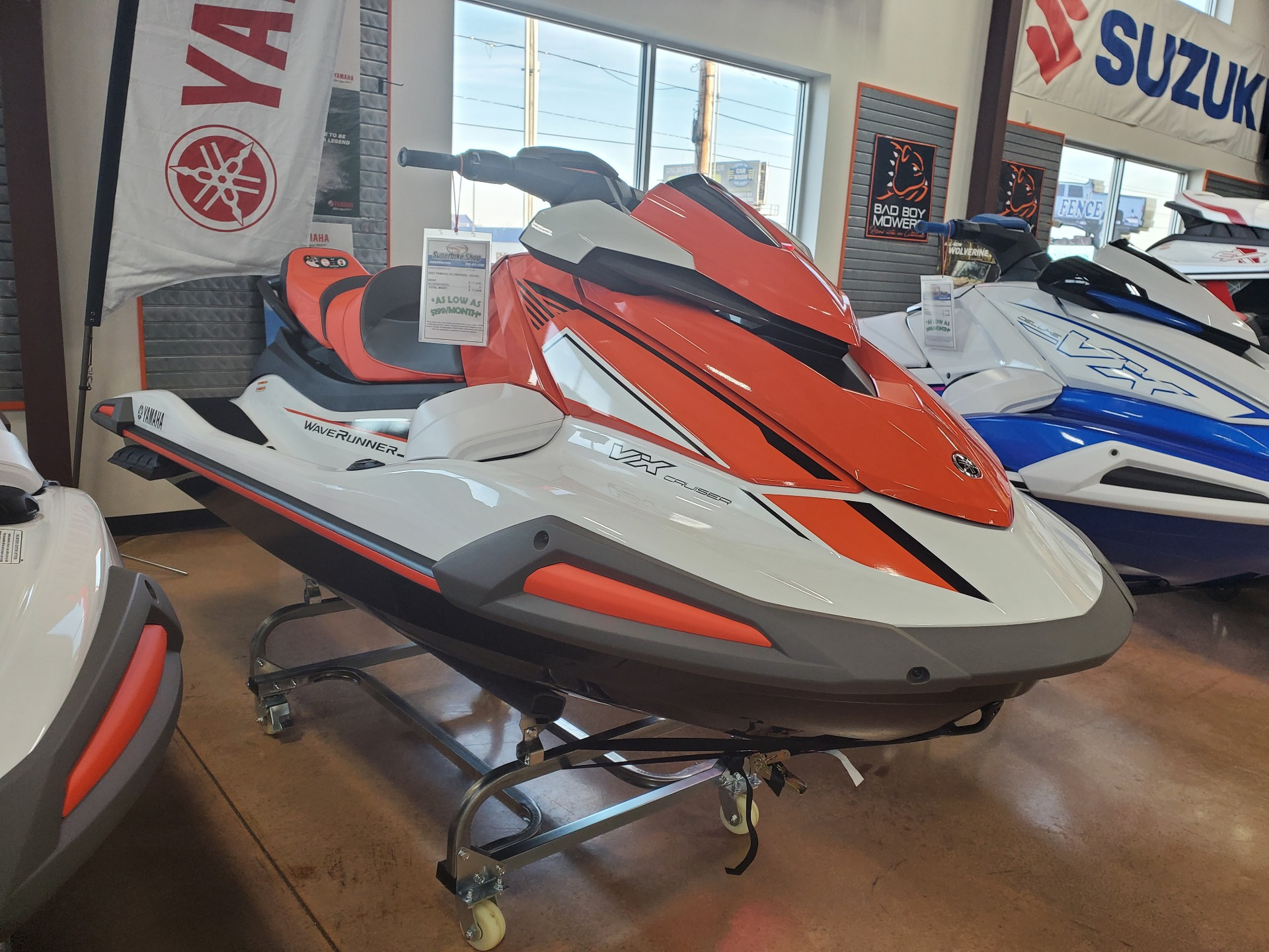 2021 Yamaha VX Cruiser with Audio in Evansville, Indiana - Photo 5