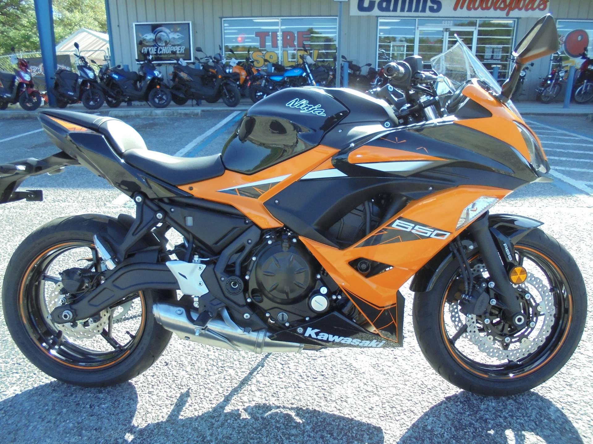 2019 Kawasaki Ninja 650 Abs In Zephyrhills Florida