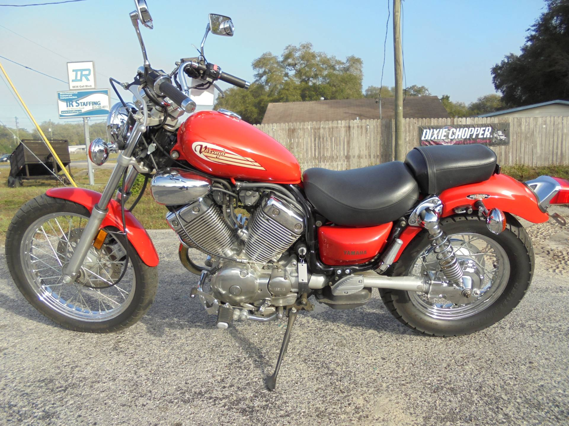 used 1996 yamaha virago 535 red motorcycles in. Black Bedroom Furniture Sets. Home Design Ideas