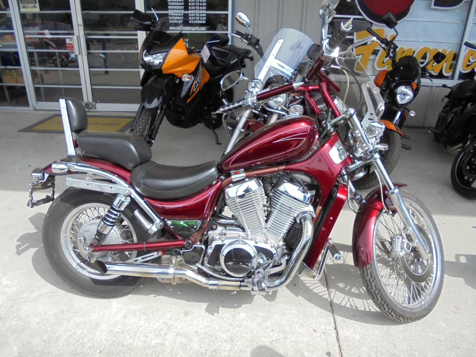 Used 1996 Suzuki Intruder 800 Red Motorcycles In Zephyrhills Fl