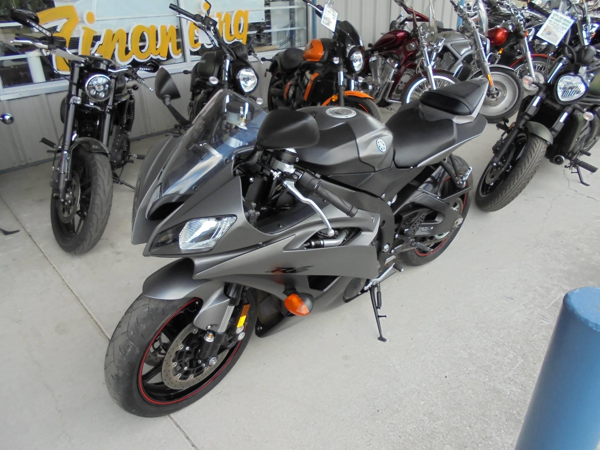 2013 Yamaha YZF-R6 2
