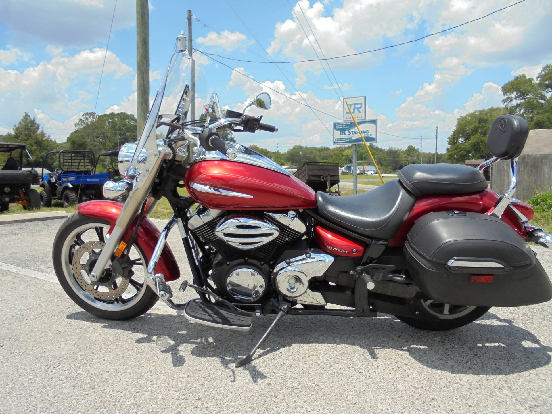 2011 Yamaha V Star 950 Tourer in Zephyrhills, Florida