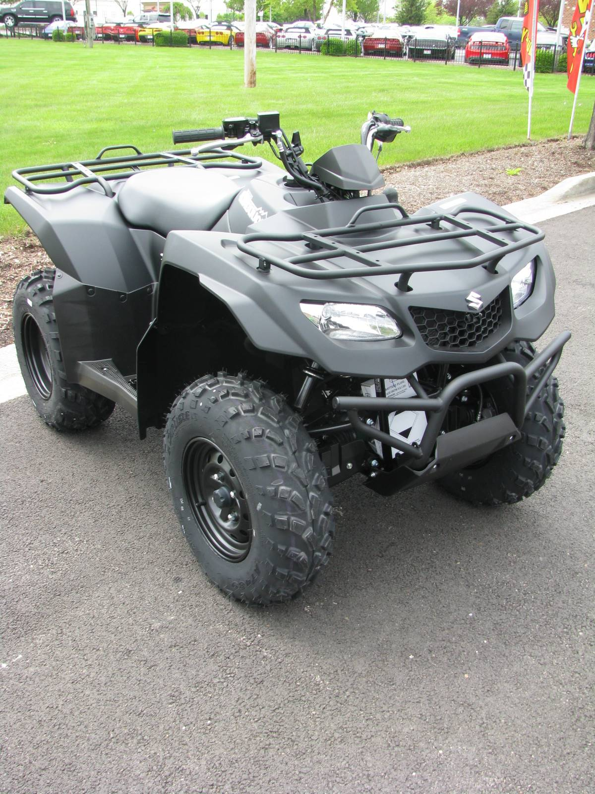 2017 Suzuki KingQuad 400ASi Special Edition in Carol Stream, Illinois