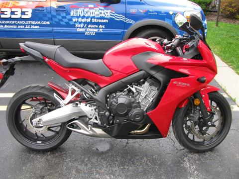 2014 Honda CBR®650F in Carol Stream, Illinois