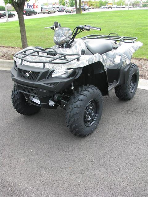 2017 Suzuki KingQuad 500AXi Power Steering Camo in Carol Stream, Illinois