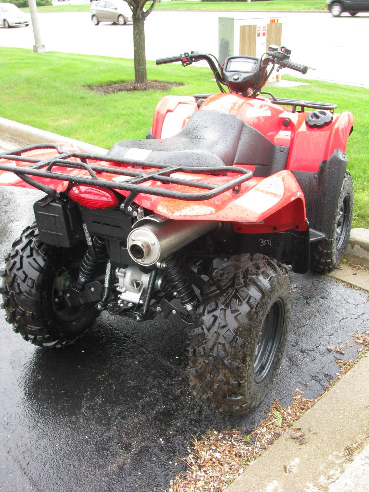 2016 Suzuki KingQuad 750AXi Power Steering in Carol Stream, Illinois