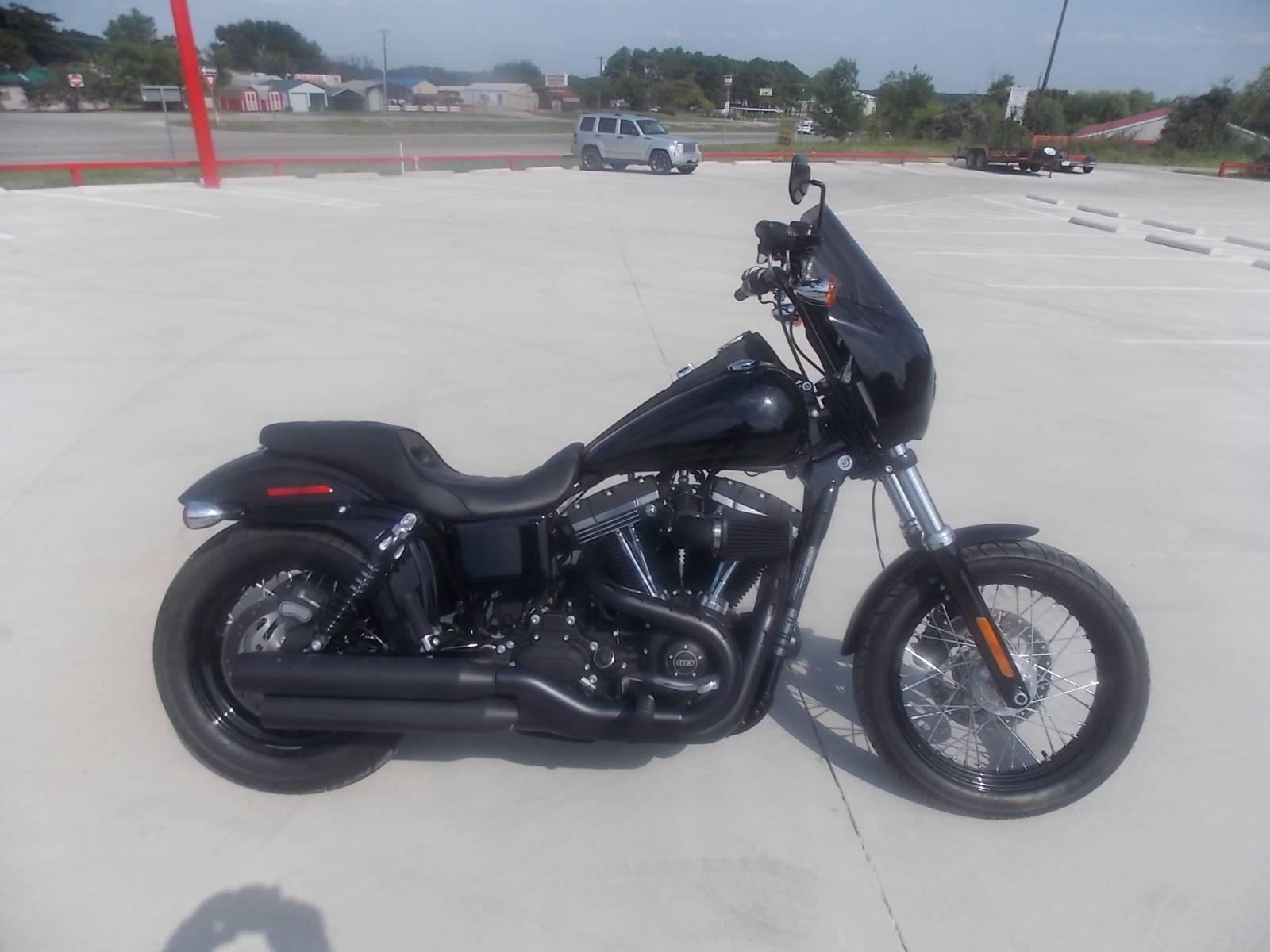 2016 harley-davidson street bob® motorcycles springtown texas n/a