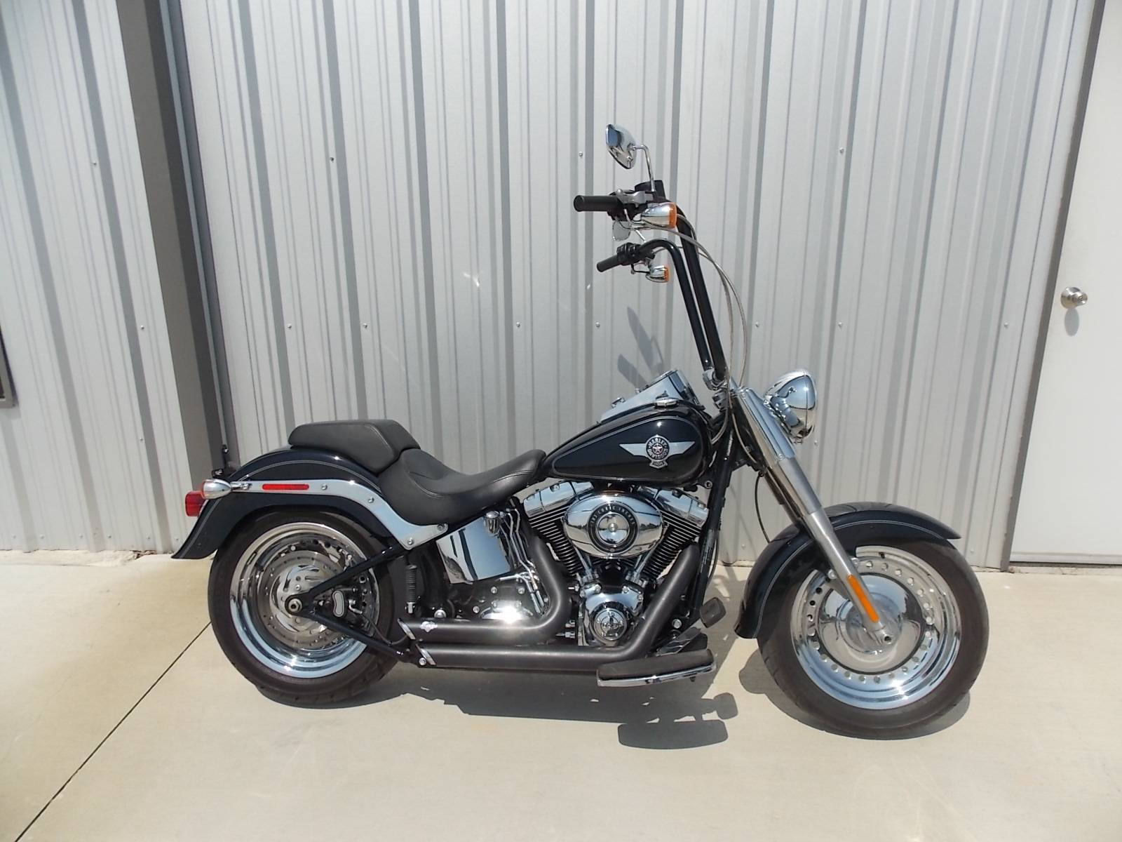 used 2012 harley davidson softail fat boy motorcycles in. Black Bedroom Furniture Sets. Home Design Ideas