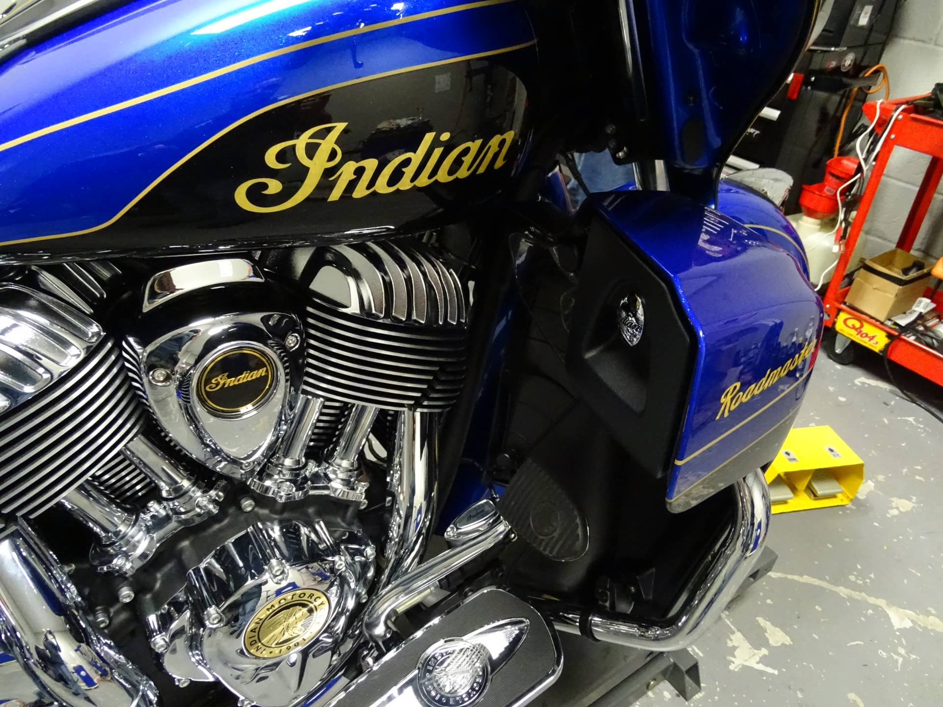 2018 Indian Roadmaster Elite in Staten Island, New York