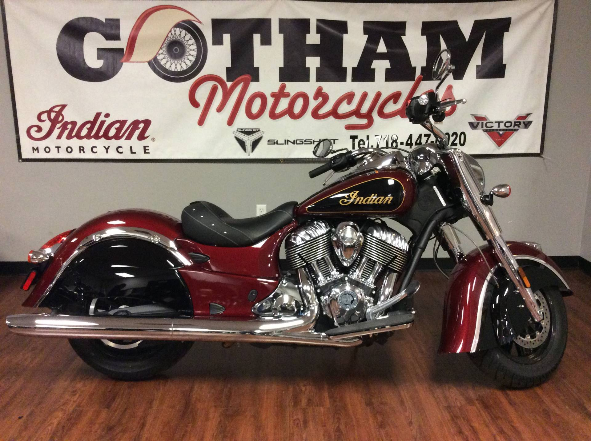2017 Indian Chief Clic In Staten Island New York Photo 1