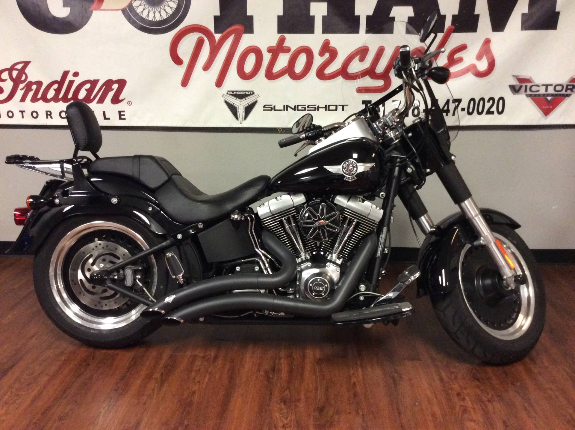 2013 Harley-Davidson Softail® Fat Boy® Lo in Staten Island, New York - Photo 1