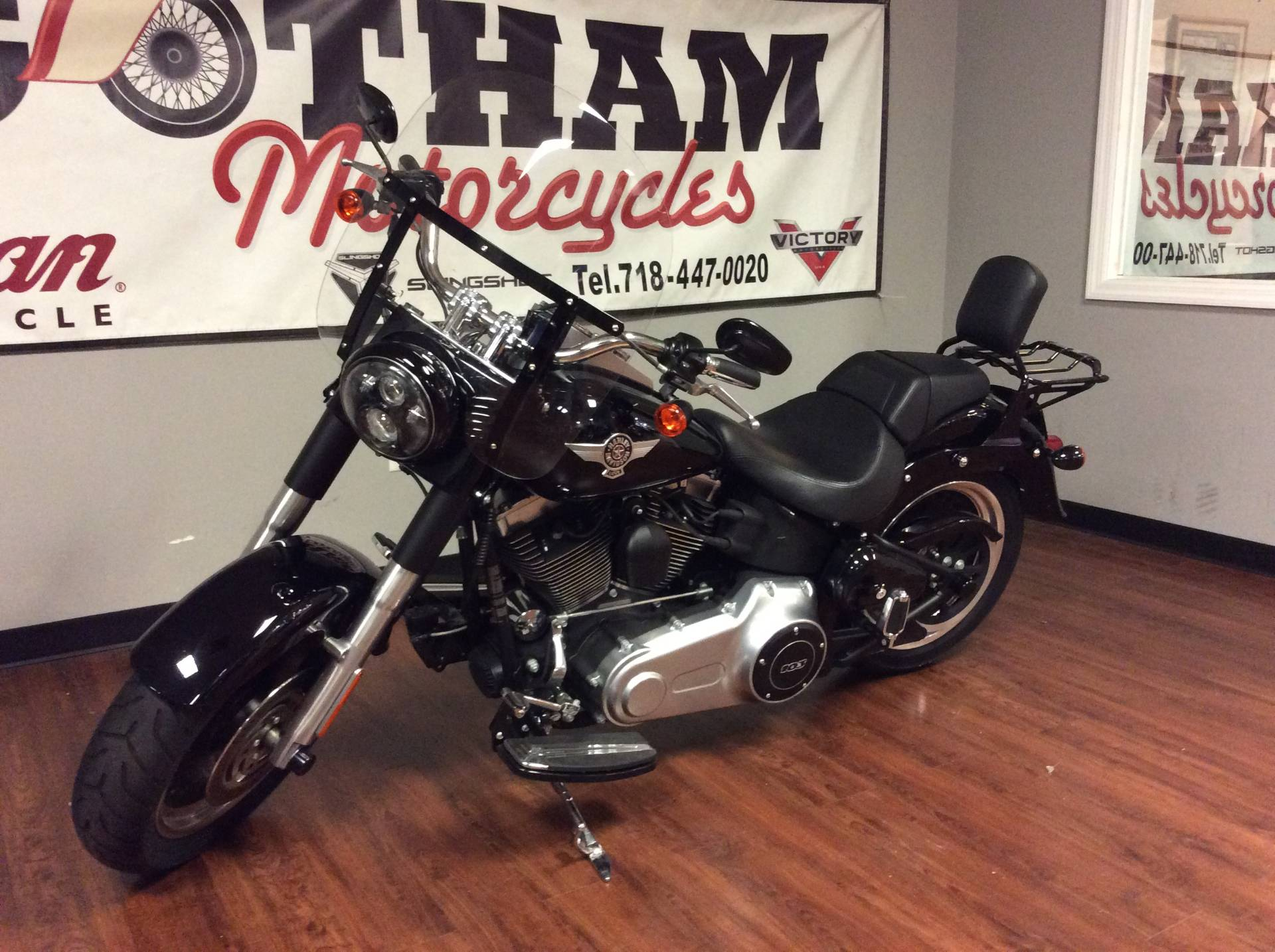 2013 Harley-Davidson Softail® Fat Boy® Lo in Staten Island, New York - Photo 4