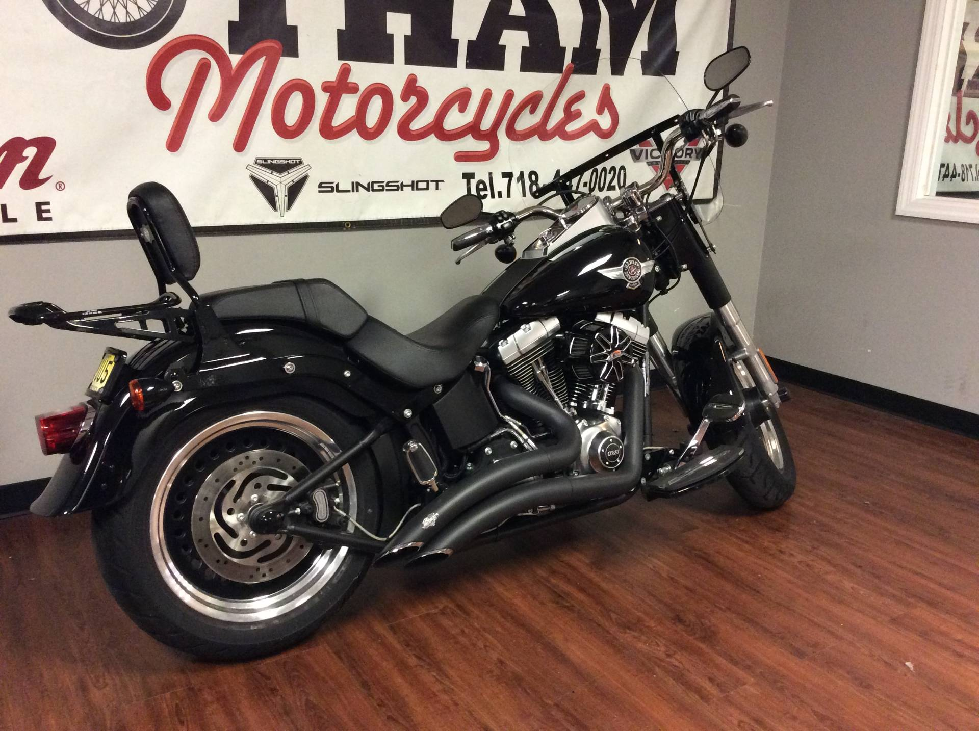 2013 Harley-Davidson Softail® Fat Boy® Lo in Staten Island, New York - Photo 8