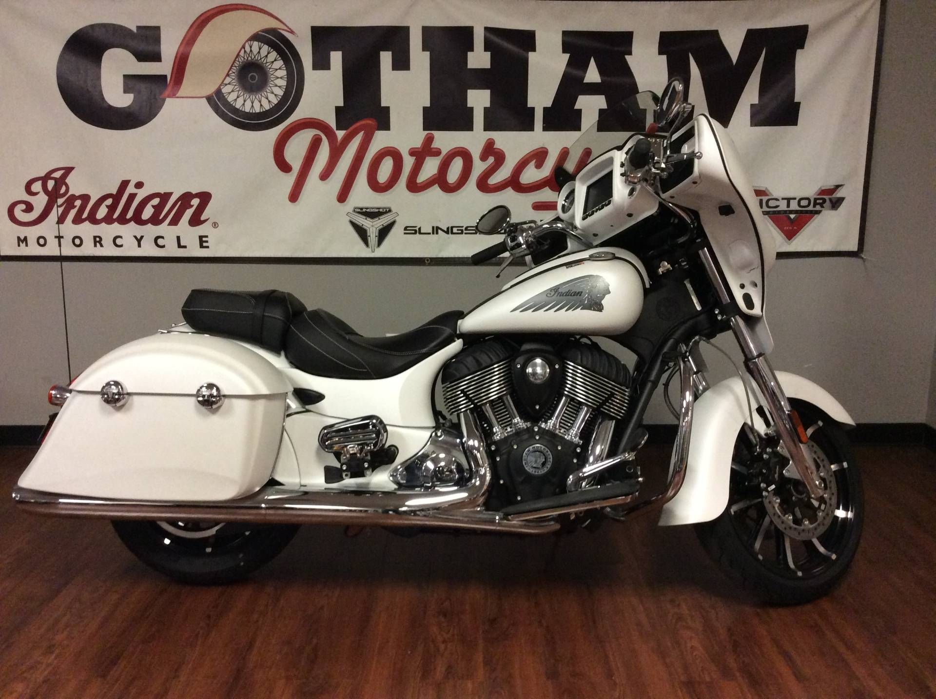 2018 Indian Chieftain Limited ABS 1