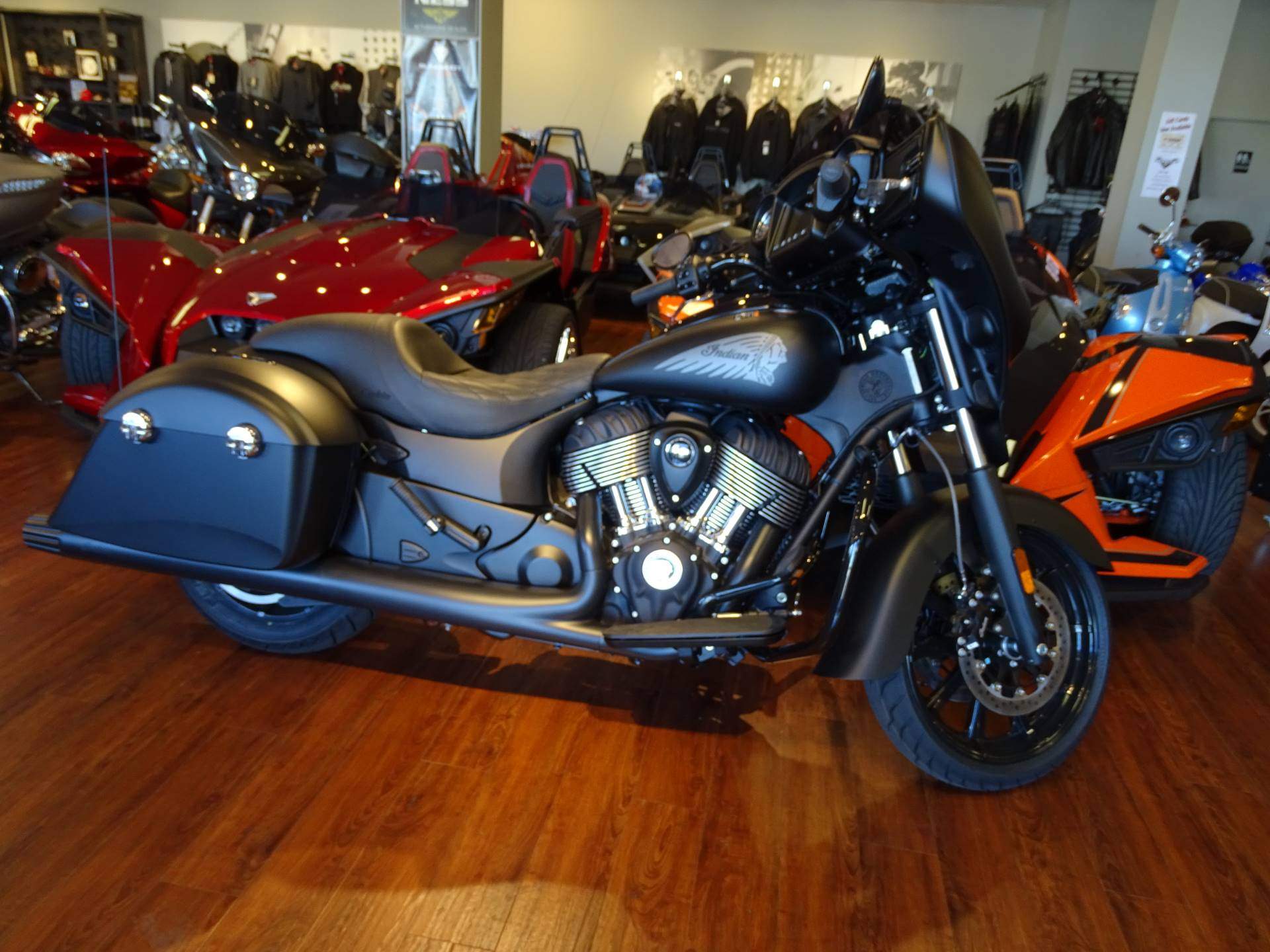 2018 Indian Chieftain Dark Horse in Staten Island, New York
