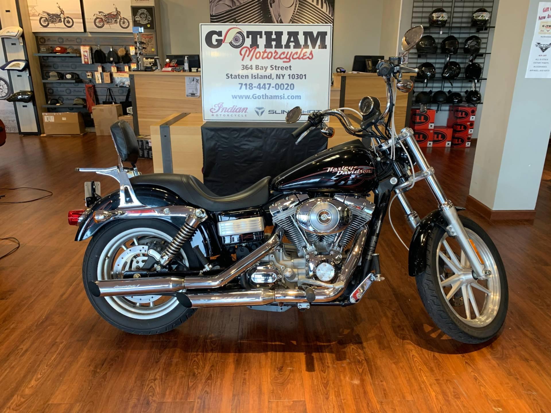 2006 Harley Davidson Dyna Super Glide Custom Motorcycles Staten Island New York 323236
