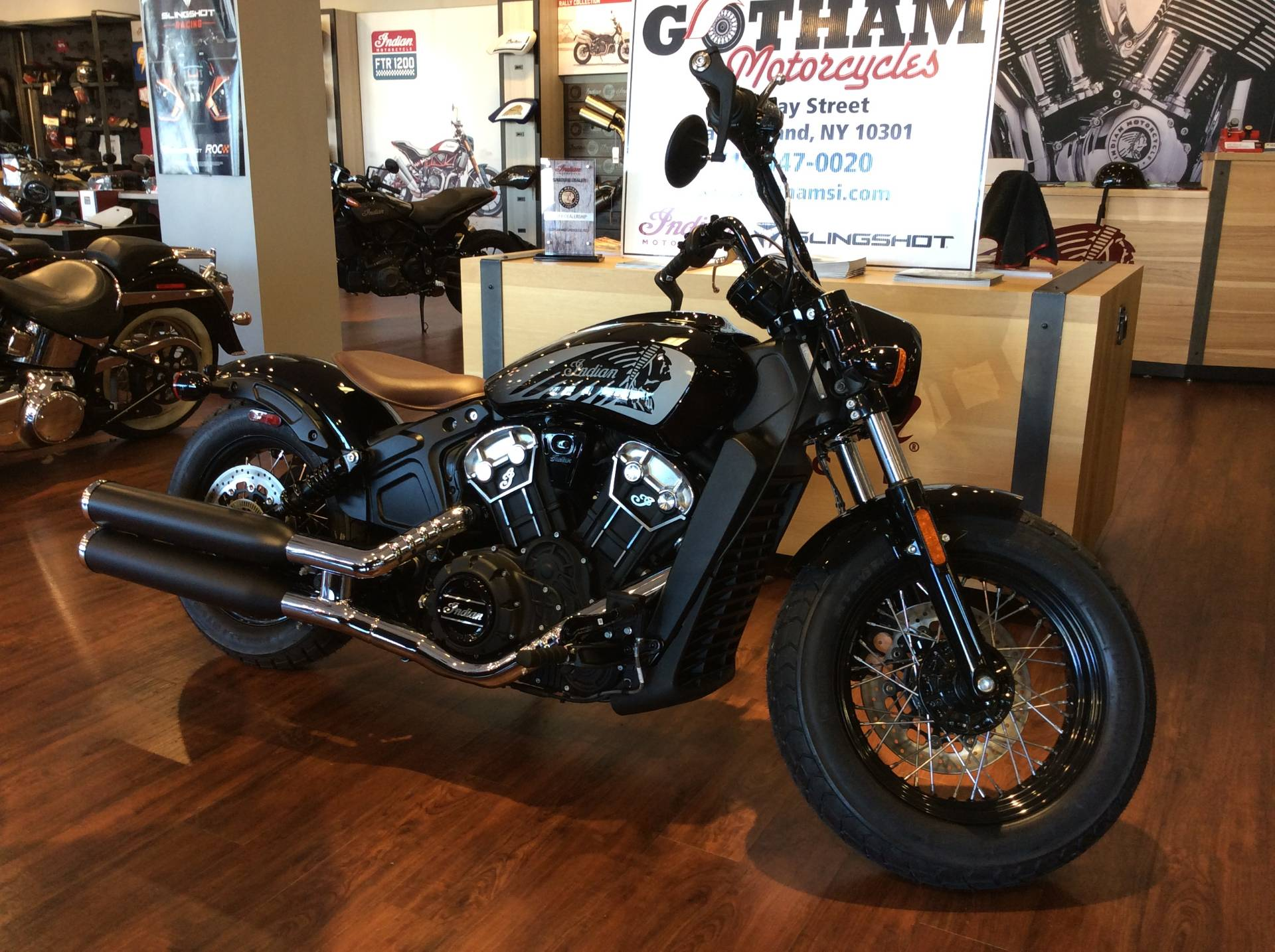 2020 Indian Scout® Bobber Twenty ABS in Staten Island, New York - Photo 2