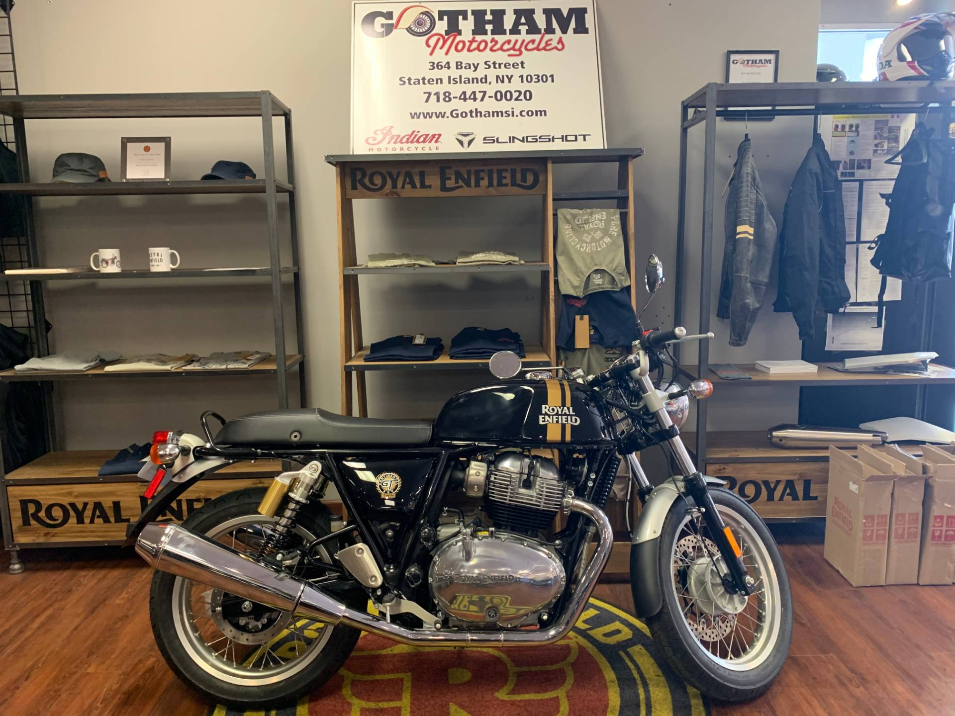 2021 Royal Enfield GT 650 in Staten Island, New York - Photo 1