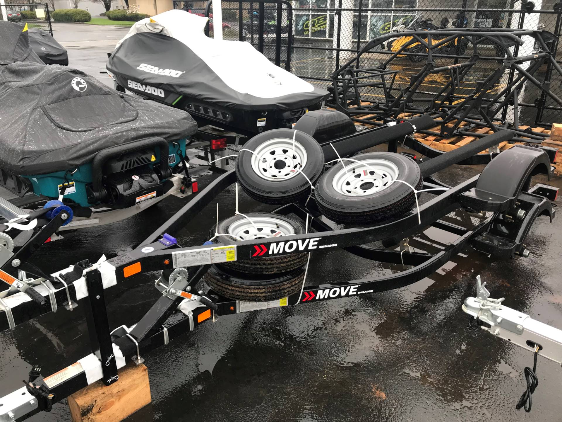 2018 Karavan Trailers Trailer Sea-Doo Move 1 XL1500 in Eugene, Oregon