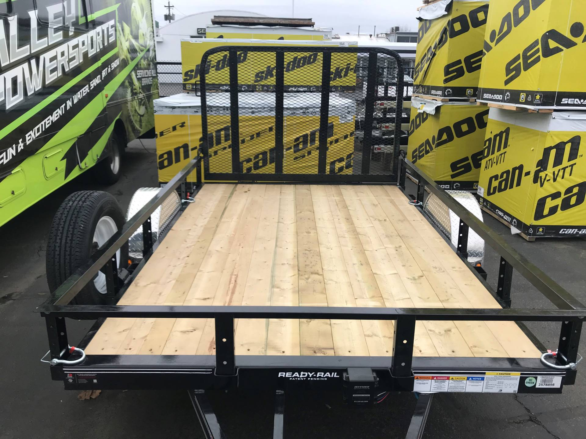 "2018 PJ Trailers 77""x10' Channel Utilty in Eugene, Oregon"
