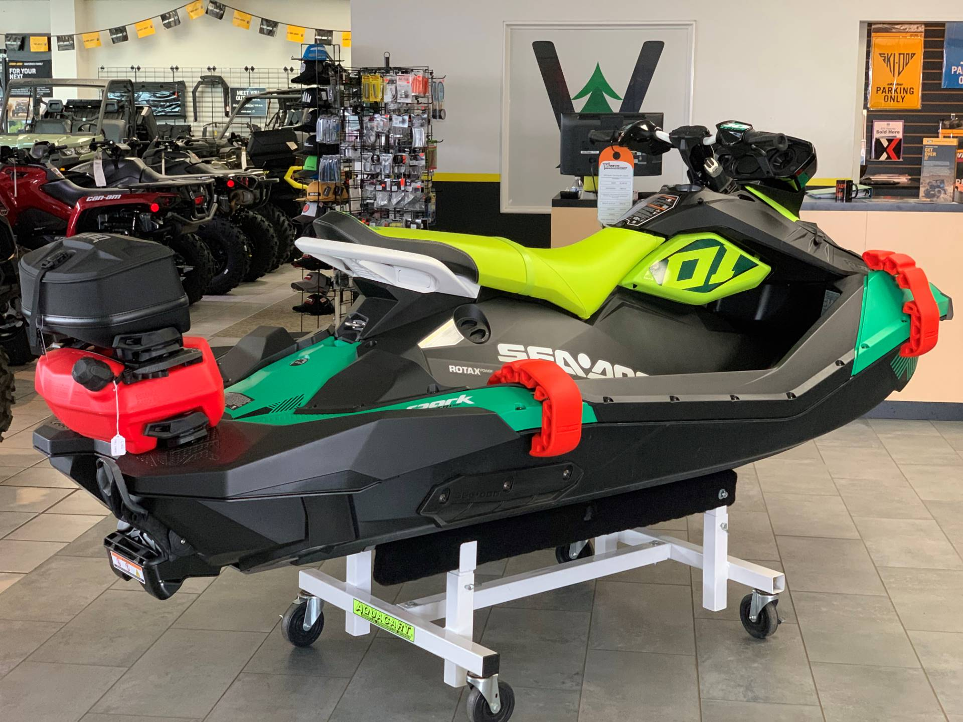 2019 Sea-Doo Spark Trixx 3up iBR + Sound System in Eugene, Oregon - Photo 6